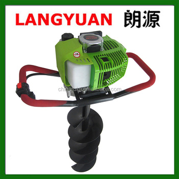 Garden tools 49cc 52cc 63cc 71cc gasoline earth auger tree planting machine