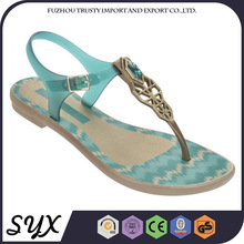 Dress Beach Pvc Strappy Traditional Indian Sandal For Woman