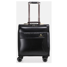 cabin size small trolley bag laptop leather airport travel luggage