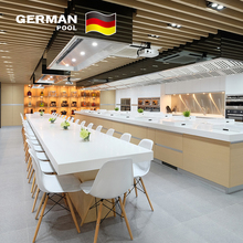 German Pool Hot-Selling Home Furniture High Gloss Simple Designs GP19 Modular Kitchen Cabinet Color Combinations