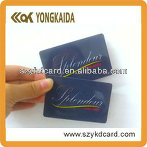 125KHz PVC Blank EM4200 RFID Card For Hotel Door Key