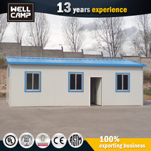 Custom Design Low Cost Steel Structure Serbia Bungalow Prefabricated House 50M2 Prefab House Plan