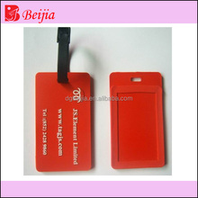 PVC luggage tag cover for promotion and business gift BJT-T001