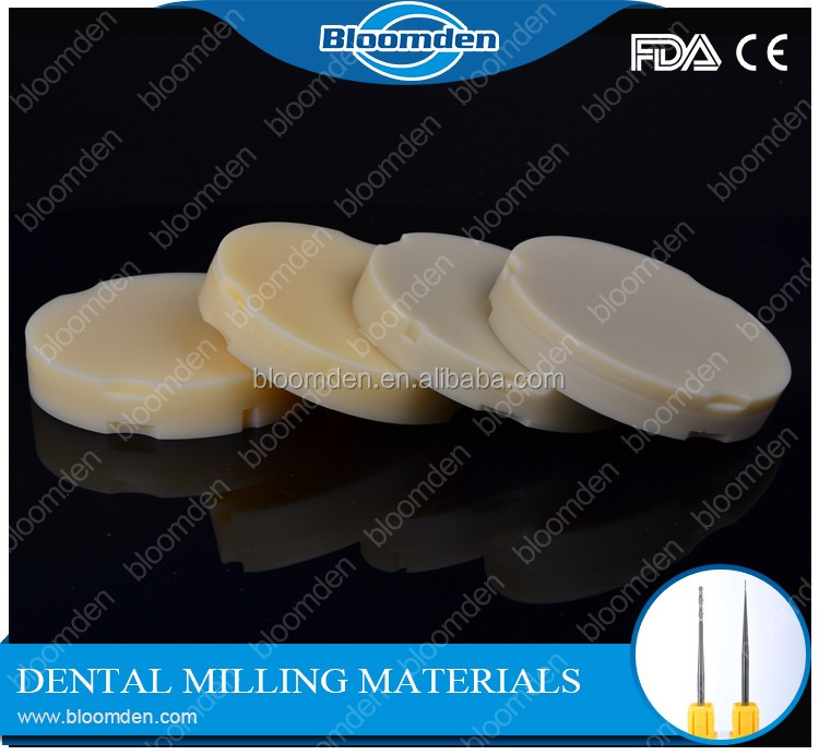High quality acrylic denture for open system dental laboratory resin material