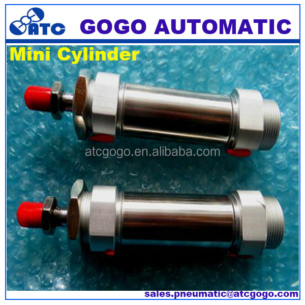 Small compressed air cylinder