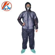 CE/ISO certified breathable non woven blue disposable coverall <strong>safety</strong> for operating room