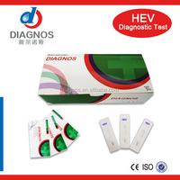 Diagnostic hepatitis E Virus IGM hev test/hev rapid test card made in China