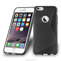 S Line Tpu Gel Case Cover For iPhone 6 Plus 5.5inch