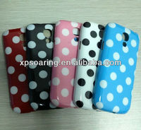 Polka dot tpu case cover for Samsung Galaxy S4 mini I9190