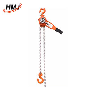 manual lever hoist rachet wrench chain block