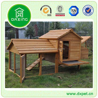 Wooden Chicken House With Nest Box / Wood Hen Coop / Pet Cage DXH014