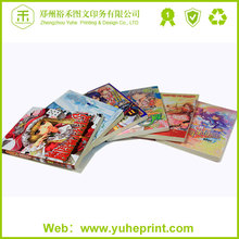 Low cost custom offset printing high quality atistic soft cover children cardboard book printing