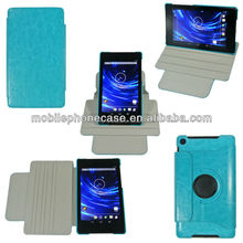 Guangzhou Factory Durable Cover Case Stylish Rotation Tablet Case For Google Nexus 7 V2