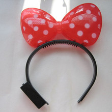 New style butterfly Led Flashing Bow/Led Flashing bow for children/Led Flashing Party item for children