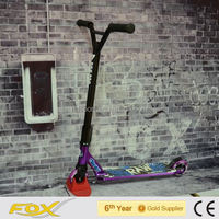 New design hot sell alu. extreme adult snow kick ski scooter