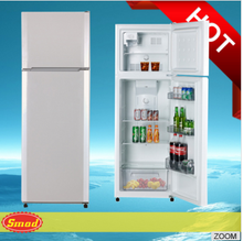 Home appliance Top Mount Double Door Refrigerator,Non-frost Combi Refrigerator With Double Doors