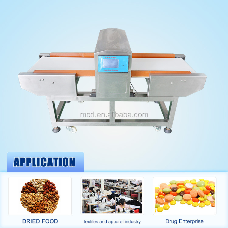 Economical and affordable Conveyor Food Metal Detector in detectors for dry food MCD-F500QD
