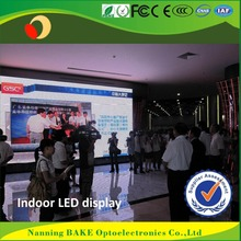 Indoor P3 P5 rental light weight seamless led display movable advertising poster boards