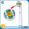 China wholesale high quality electric travel toothbrush head for oral B Precision Clean EB18-4, SB-18A