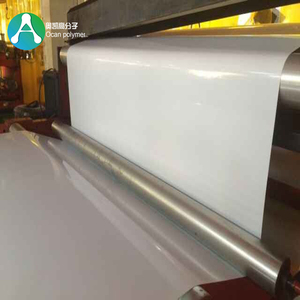 Offset Printing Glossy White PVC Rigid Plastic Sheet for Making Cards