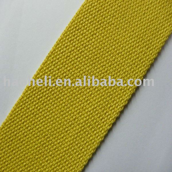 57mm cotton polyester webbing bag strap,cotton tubular webbing