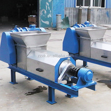 China Factory price squeezer press machine with dehydrator