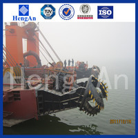 cutter suction dredging machine