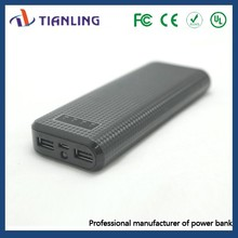 Hot Selling 18000 mah High Capacity Power Bank With LED light