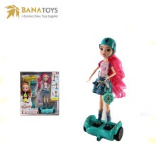 11.5 inch girl doll with hoverboard toys for kids