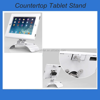 tablet kiosk display stand, lockable and rotatable