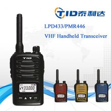 TD-V6 Voice Scramble pmr446 stylish 5w two way radio freetalk walkie talkie