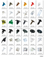 Plstic clips for car/ Auto fastener