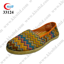 unisex custom printed promotional ladies canvas deck shoes
