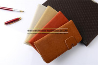 Stand Leather Flip Cover Wallet Design Mobile Phone Bags Cases for Sony Xperia M2