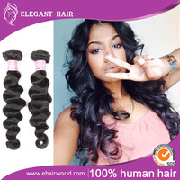 Russian Virgin Hair Loose Wave Extensions 7A Russian Loose Wave Human Hair Weave Bundles Natural Black Rosa Hair Products