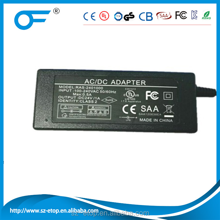 Shenzhen supplier 110v ac to 24v dc LED power supply for strip