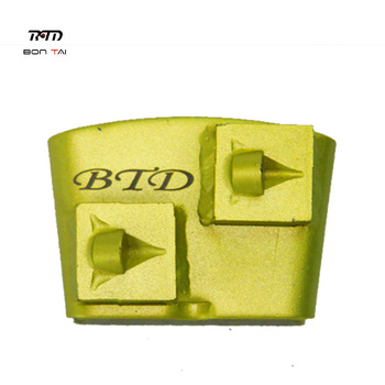 HTC PCD coating removal diamond grinding shoes for floor removal off epoxy paint