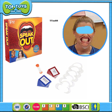 New product speak out game are hot sale Europe for party toys market