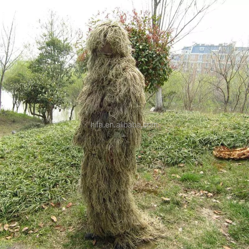 desert hunting clothing/camouflage sniper ghillie suit