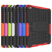 heavy duty tyre line combo protector hybrid case cover for xiao mi pad 2