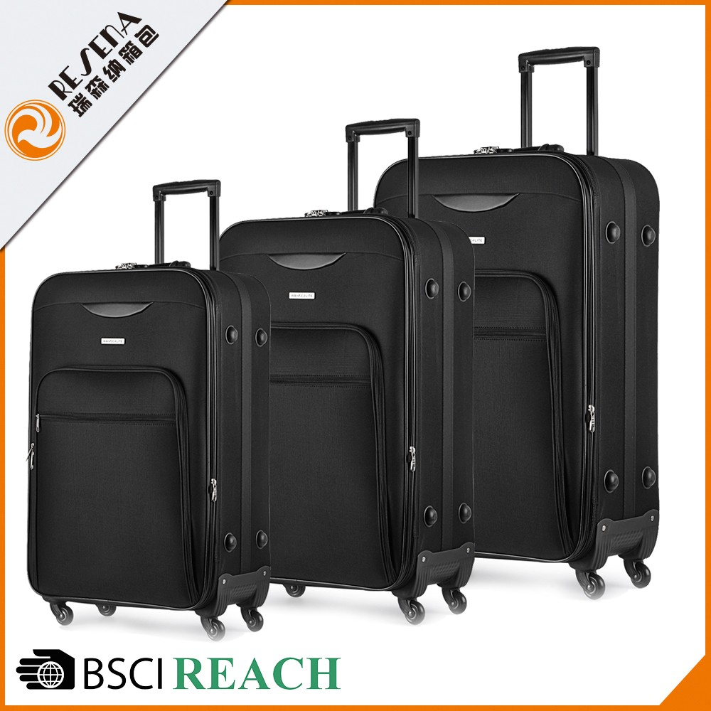 Best Brand code lock 600D polyester carlton luggage spare parts