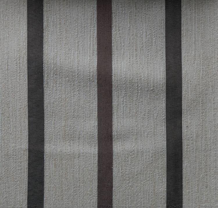 Wholesale fire resistant blackout stripe chenille curtain fabric from China