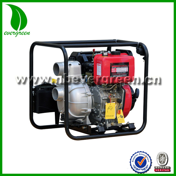 AIR-COOLD ELECTRIC IGNITION DIESEL WATER PUMP