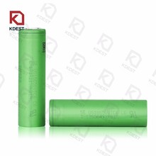 Vbatty 18650 3000mah 30A 3.7V battery with flat top for sony vtc6 li-ion lithium 18650 battery