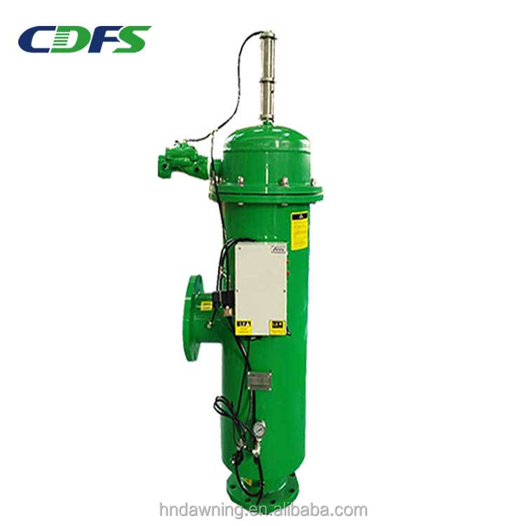 wastewater treatment agricuture irrigation self-cleaning 40 T/H hydraulic motor suction filter