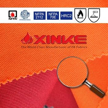 Xinke NFPA 2112 cn cotton nylon flame resistant fabric