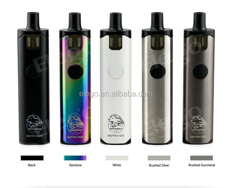 Newest Box Pods Vape Wismec Motiv Pod Kit with Wholesale Price from Elegotech