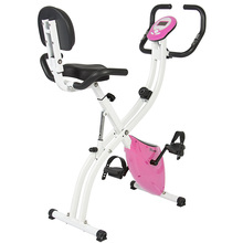 Fitness Upgraded Machine Folding Adjustable Magnetic Upright Exercise Bike