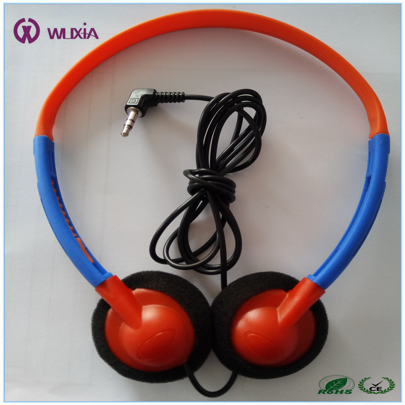 Fashion children Aviation Headset No Bluetooth airline earphone