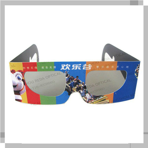 Circular polarized 3d glasses,2d to 3d converter polarized